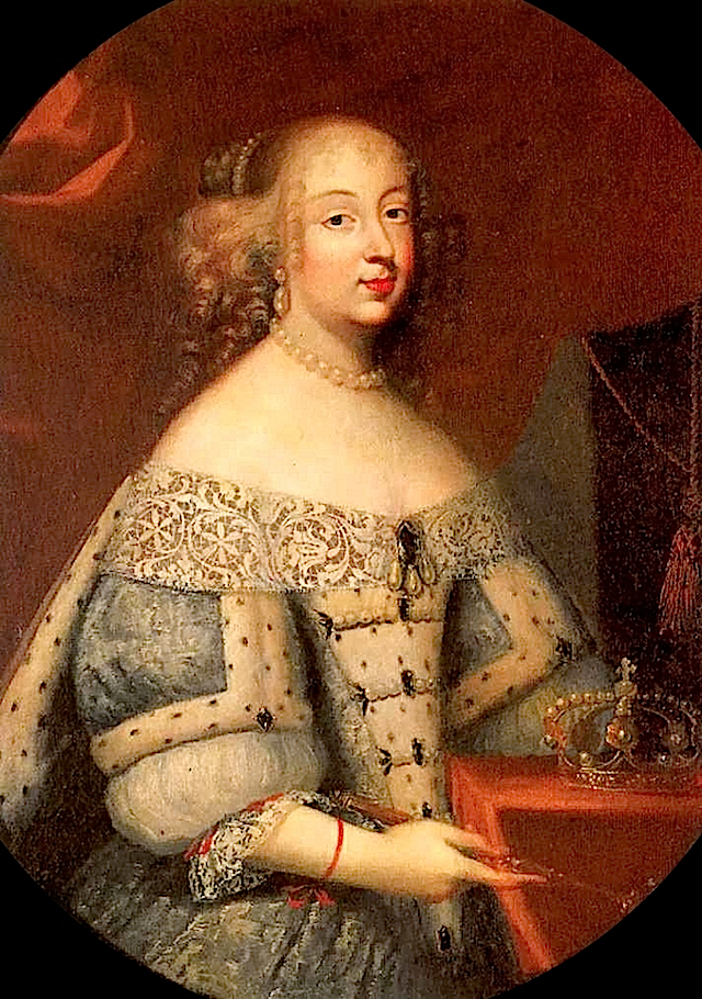 Marie Jeanne of Savoy as the Duchess of Savoy by ? (location unknown to gogm) from altesses.eu