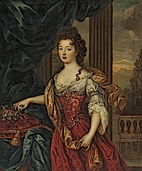 Marie-Thérèse de Bourbon, Princesse de Conti by Pierre Mignard (auctioned by Christie's)