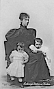 Marie Valerie and her children Franz Karl and Elisabeth Franzisca APFxKarlandZita 1Nov10
