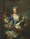 Marquise de Louville by Hyacinthe Rigaud (auctioned by Christie's)