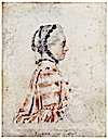Marquise de Pompadour in striped dress by Jean-Étienne Liotard (location unknown to gogm)