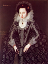 Mary Lygon Bromley, daughter of Sir William Lygon and Elizabeth Harewell, b.1597, married to Henry Bromley of Upton, Esq. (of Worcestershire) From pinterest search