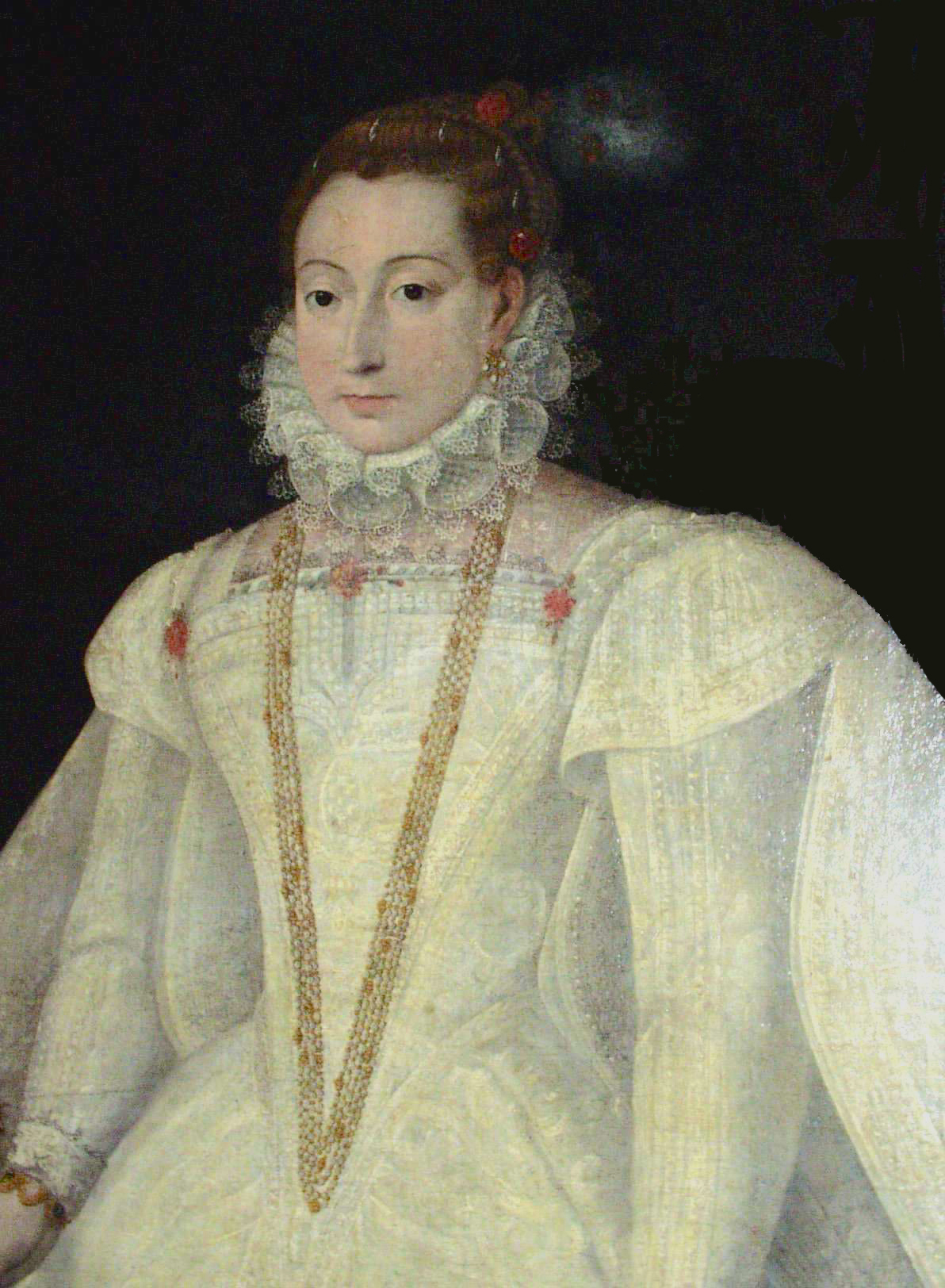 1565 Mary, Queen of Scots wedding dress by ? (location unknown to ...