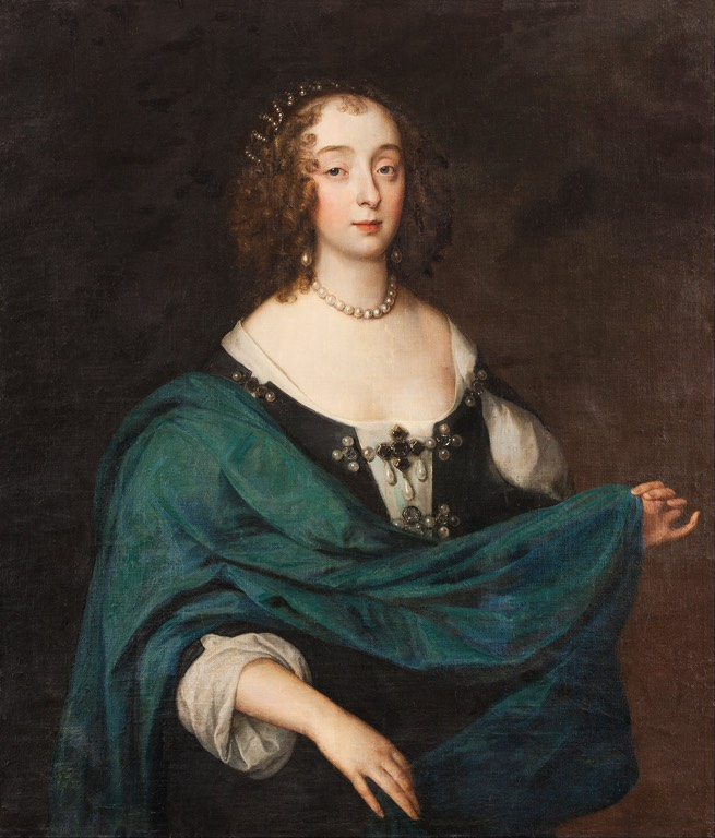 Mary Villiers, Duchess of Richmond and Lennox by ? (Skokloster  slott - Uppsala, Uppsala (County), Sweden) From Google Art Project via Wm