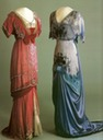 1910 - 1913 Evening dresses worn by Maud