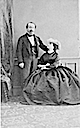 Empress Eugénie and Napoleon III portrait