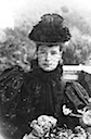 1894 or 1895 Maria Feodorovna wearing mourning dress