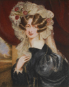 Miss Cynthia Harcourt by Clementina Robertson (Mrs. John Siree) (auctioned by Bonhams) From the Bonhams Web site despot