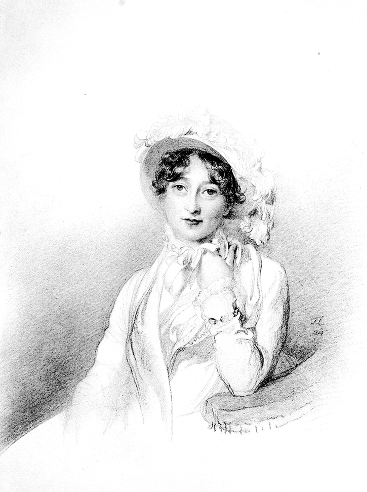 Monotone Catherine Wellesley, née Pakenham 1st Duchess of Wellington by or after Sir Thomas Lawrence (location ?) From liveinternet.ru:users:3251944:post206179254:
