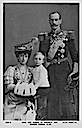 Maud, Haakon, and Olaf post card