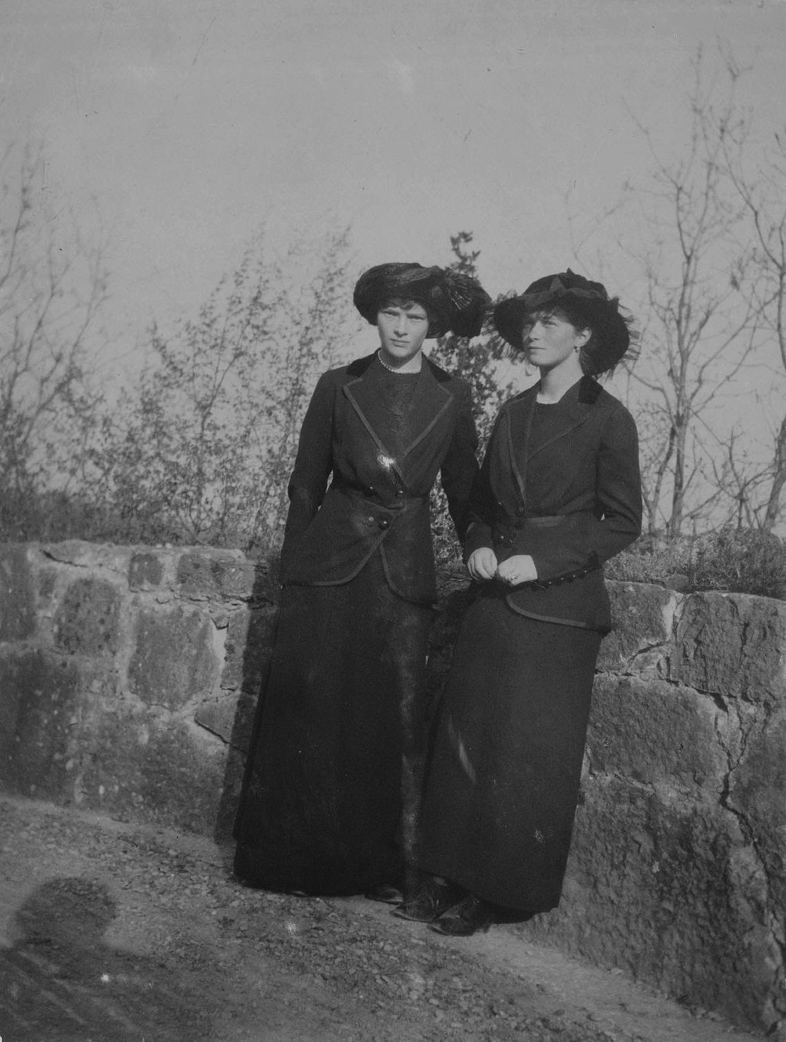 Tatiana and Olga Romanov Pin Badge