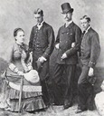 1881 Olga and Georgios with son Georgios