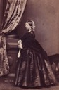 1861 (March) Queen Victoria carte de visite by Mayall