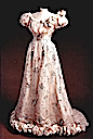 Pink chiffon evening dress worn by Tsaritsa Alexandra Feodorovna
