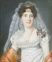 Duchess Maria Elisabeth in Bavaria by Joseph Boze (auctioned by Sotheby's) Wm trimmed