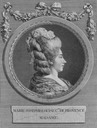 Portrait of Marie Josephine Louise of Savoy by Marie-Louise-Adélaïde Boizot after Louis-Simon Boizot (sculptor) (Bibliothèque nationale de France - Paris France)