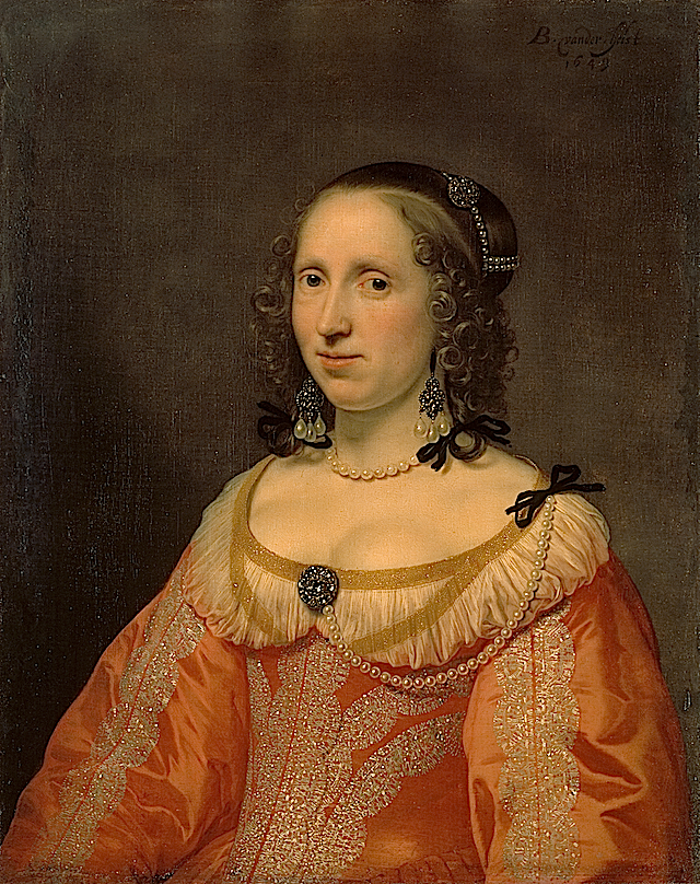 Portrait of a Woman by Bartholomeus van der Helst (Hermitage) Wp