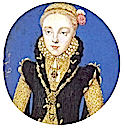 Possibly Catherine Grey, sister of Jane Grey, granddaughter of Mary Tudor or possibly Elizabeth I as a princess by Leevina Teerlinc