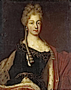 Presumed portrait of Maria Luisa of Savoy (1688-1714) or Anne Christine of Sulzbach by circle of Nicolas de Largillière
