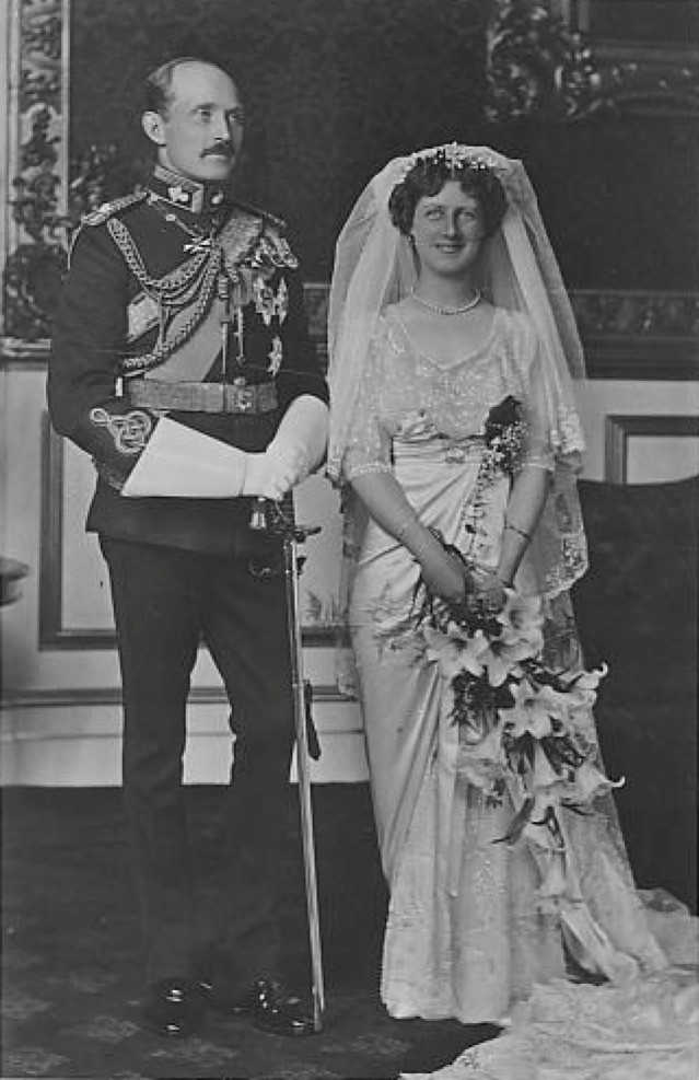 1913 Prince and Princess Aurthur of Connaught WG eBay detint