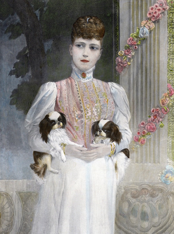 Princess Alexandra and dogs eBay X 1.5 -