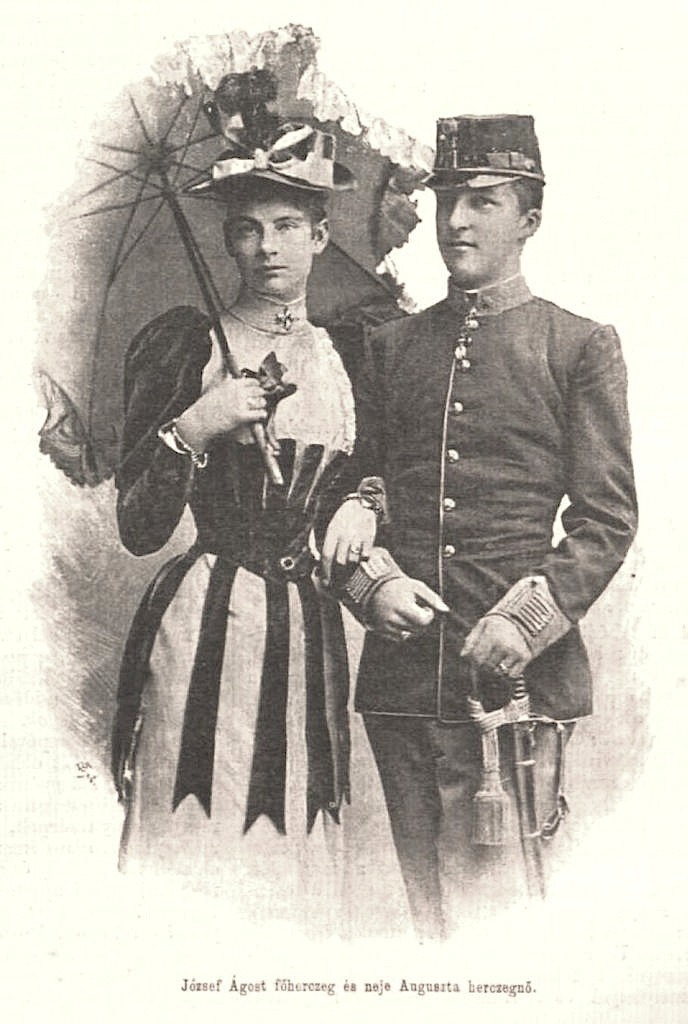 Princess Augusta Maria Louise of Bavaria and Archduke Joseph August APFxKatenka Fyodorovna 7 Nov09