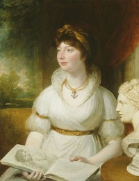 Princess Charlotte Augusta Mathilde probably by William Beechey (location unknown to gogm)