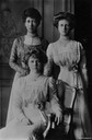 Princess Royal Louise and daughters Maud and Alexandra