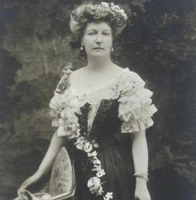 Princess Louise of Belgium in fanciful dress