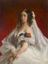 Princess Marie (Luise Alexandrine) of Prussia, Princess of Sachsen-Weimar and Eisenach (1808-1877) attributed to Franz Xaver Winterhalter (auctioned by Dorotheum)