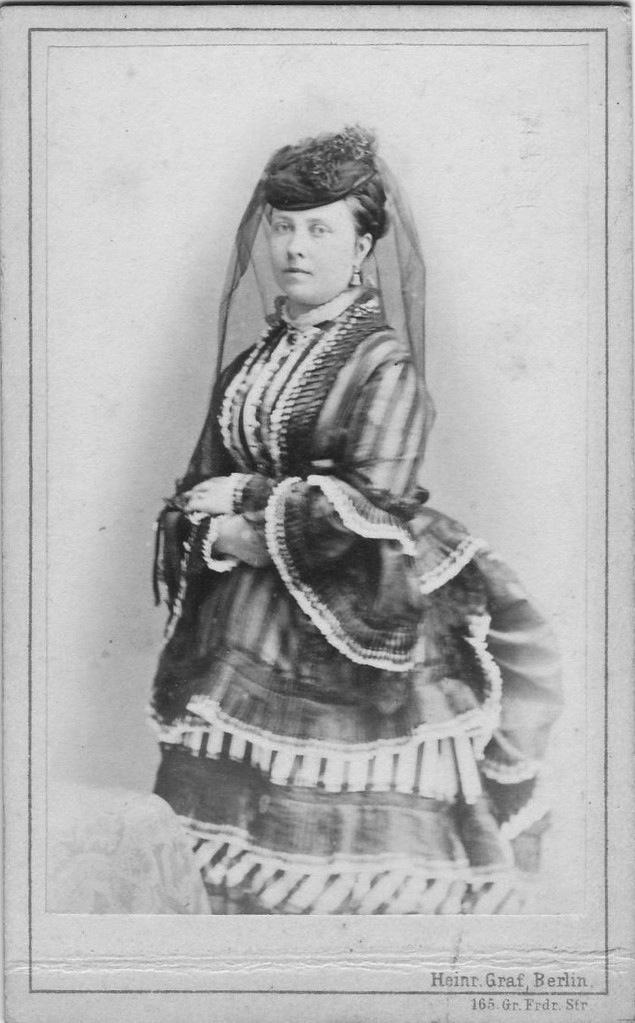 Princess Royal Victoria Carte De Visite