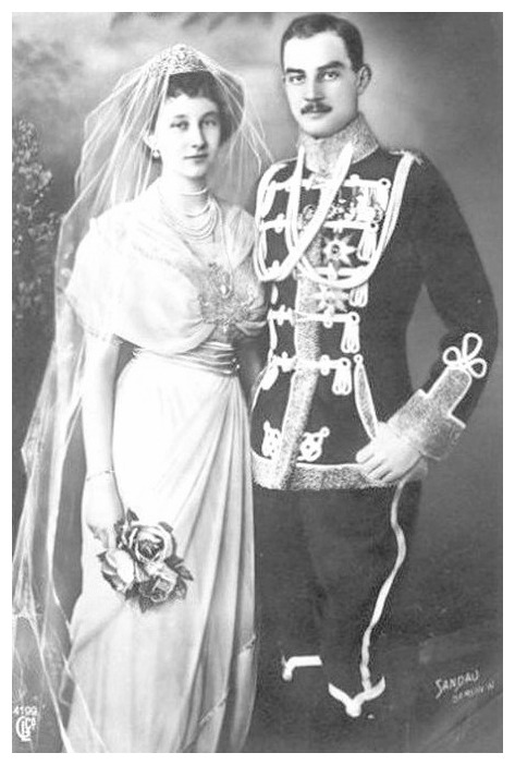 1913 (24 May) Princess Victoria Louise of Prussia and Prince Ernst August of Hanover by Sandau RWMBxChris 2May11