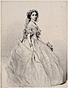 Princess Alice as a bridesmaid by Richard James Lane, after Winterhalter (National Portrait Gallery, London)