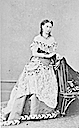 Princess Alice wearing an elaborate gown