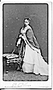 Princess Alice standing behind a chair by W. & D. Downey