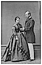 Princess Helena of England and her husband Prince Christian by Hills & Saunders