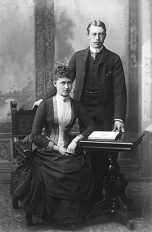 Princess Irene of Hesse and Prince Heinrich of Prussia APFxGrand Princess Shandroise 3Jun12 detint