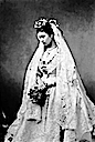 1871 Princess Louise on her wedding day