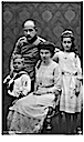 1914 Princess Marie Louise, nee Hanover and Prince Maximilian von Baden and family by Hirsch