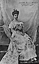 Princess Mathilde of Saxe-Coburg (Bavaria) seated