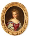 Princesse Françoise-Marie de Bourbon, dite Mademoiselle de Blois, legitimized daughter of Louis XIV (1677-1749), by ? (auctioned) From Pinterest search