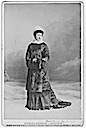 ca. 1879 Princess Louise dressed for cold weather by Notman and Sanham, Montreal