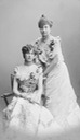 1902 Princesses Isabelle of Orléans (1878–1961) and her cousin Marie of Orléans (1865–1909), Princess Waldemar of Denmark by Carl Sonne