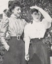 Princesses Toria and Maud of Wales