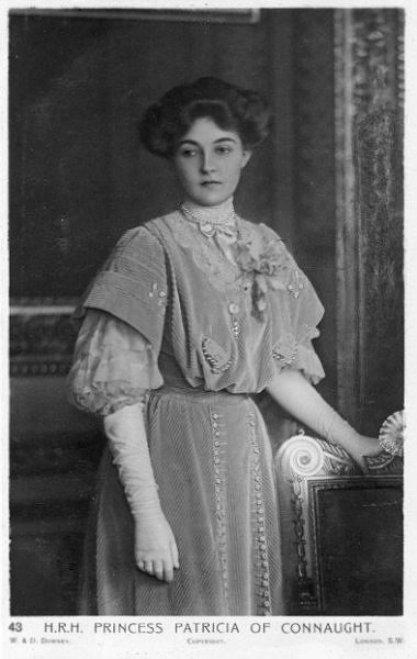 Princess Patricia of Connaught detint