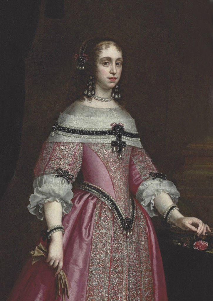 Queen Catherine of Bragança by Justus Sustermans (location ?) From markfrm.blogspot.com:2014:10:13 13.html#more
