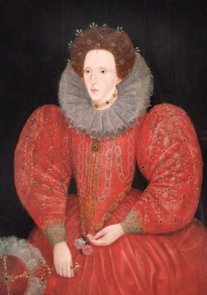 Queen elizabeth 1 red dress
