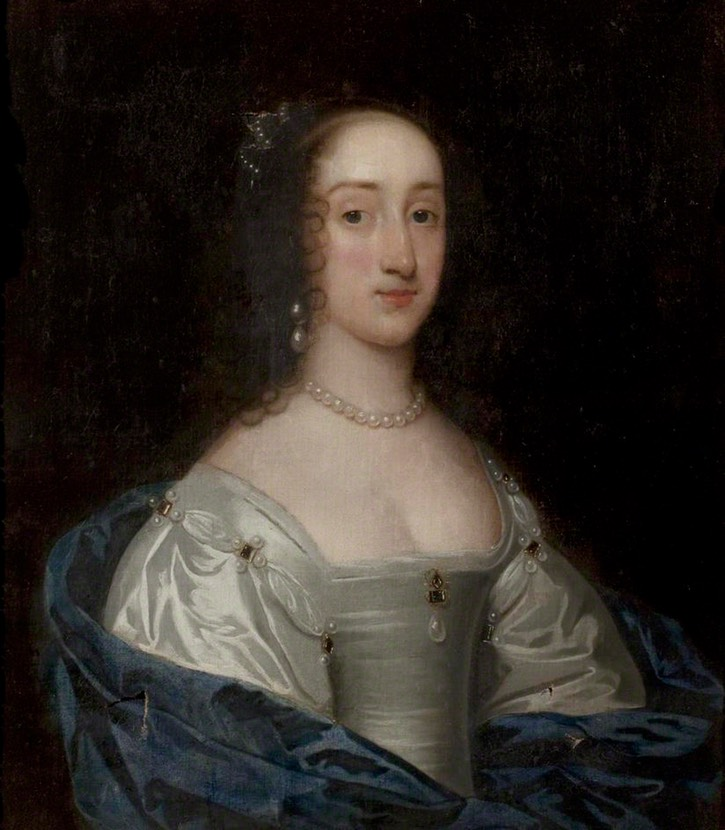 Queen Henrietta Maria (1609–1669) attributed to Sir Anthonis van Dyck (Nottingham City Museums and Galleries - Nottingham UK)