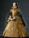 1555-1558 Queen Mary of England figurine by George Stuart after Eworth