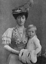Queen Maud and Olav